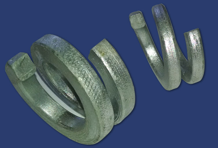 double coil washers