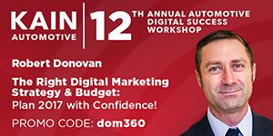 DOM360 serves as Kain Automotive's title sponsor