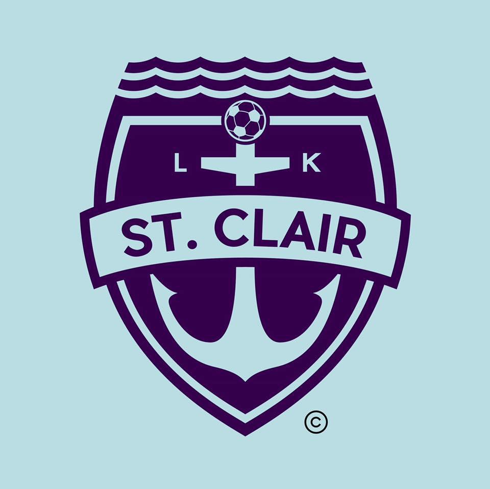 lk st clair soccer logo