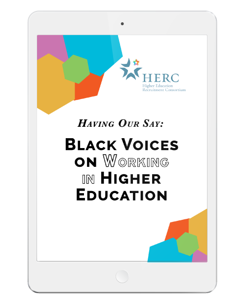 Black Voices on Working in Higher Education ebook Image