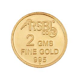 Gold 995 2 grams