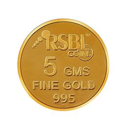 Gold 995 5 gm