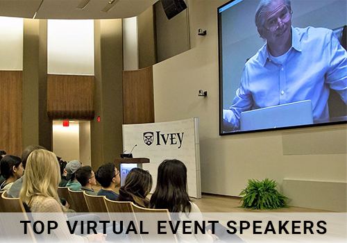 Top Virtual Event Speakers