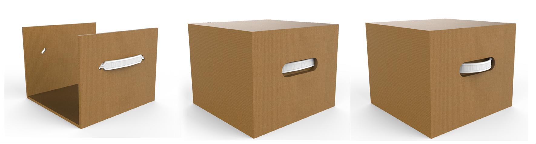 Side Mount Handle on Box