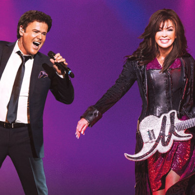 Donny and Marie Osmond live