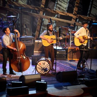 The Avett Brothers live