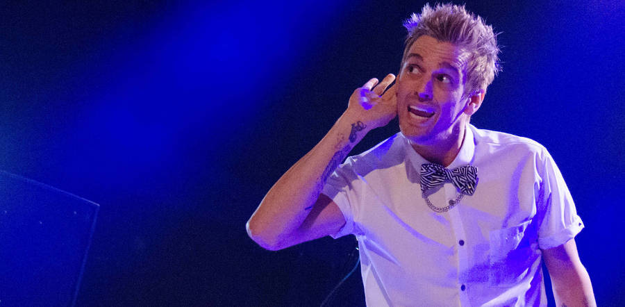 Aaron Carter tour dates