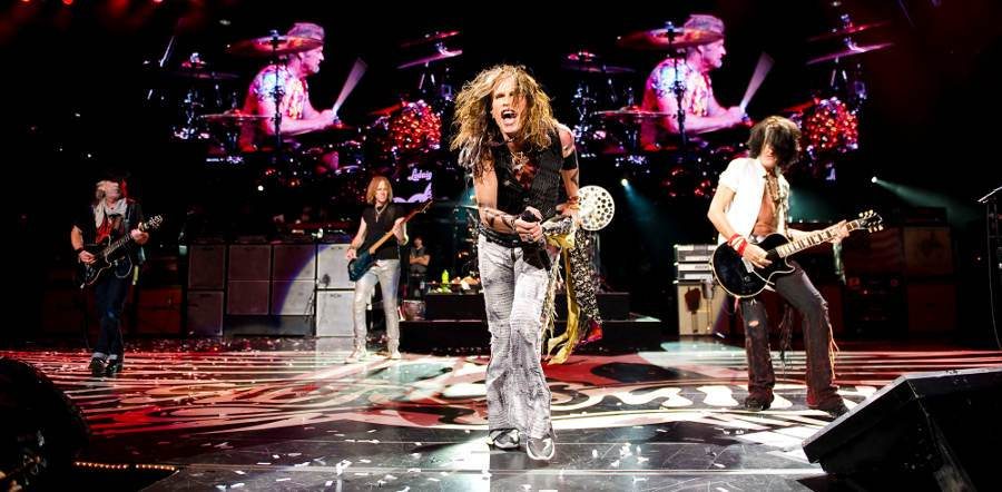 Aerosmith tour dates