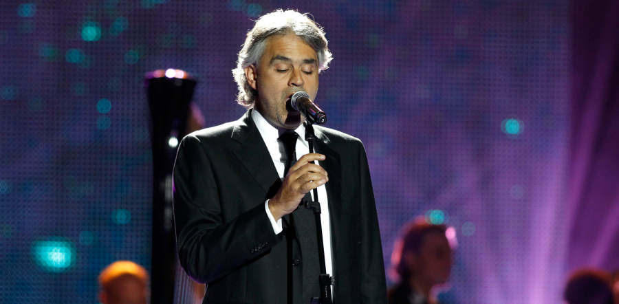 Image result for Andrea Bocelli 2018 tour