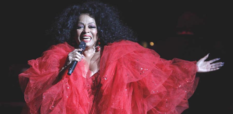 Diana Ross tour dates