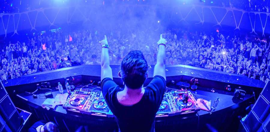 Grammy Award-winning record producer, songwriter and DJ, Calvin Harris, is a regular at Omnia.