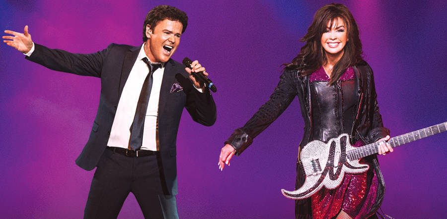 Donny and Marie Osmond tour dates