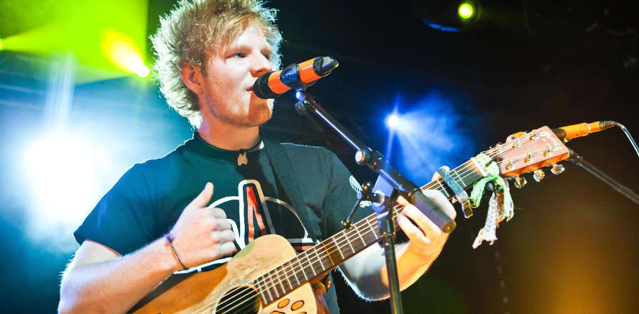 Ed Sheeran tour dates
