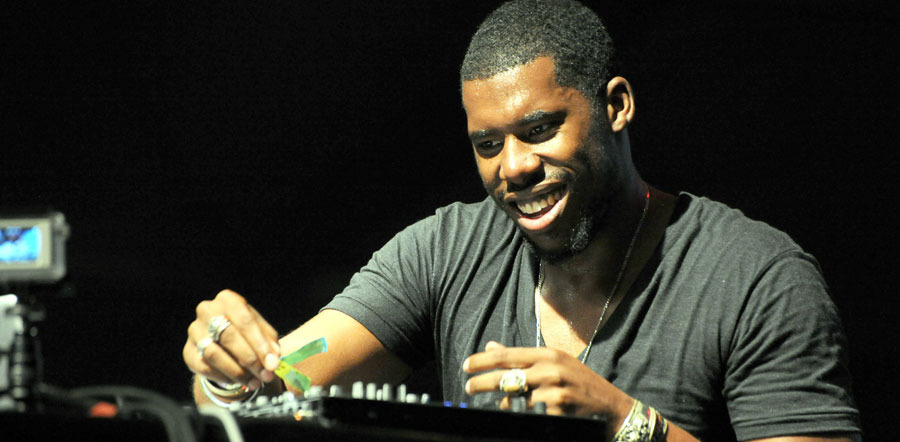 Flying Lotus live