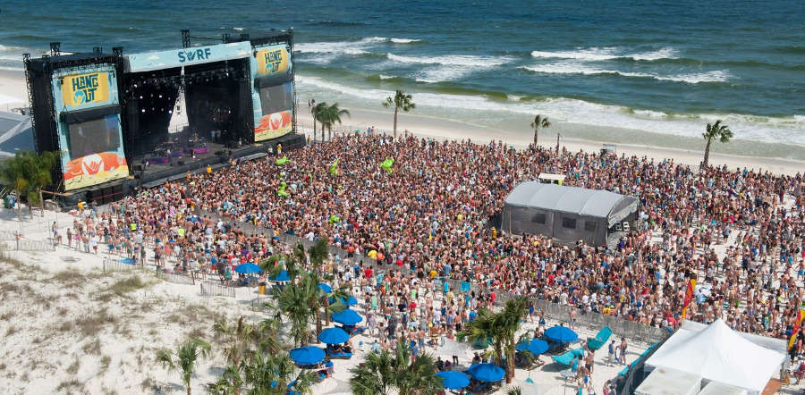 Hangout Music Festival tour dates