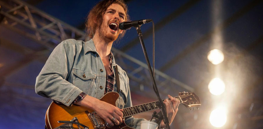 hozier: TOUR T-SHIRT (EUROPE DATES NOV-DEC 2014 & JAN-FEB 2015)