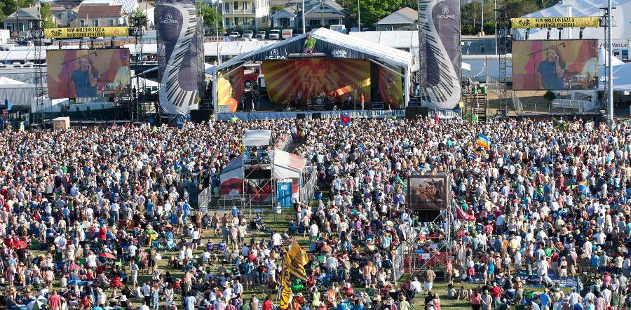 New Orleans Jazz And Heritage Festival tour dates