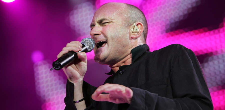 Phil Collins tour dates