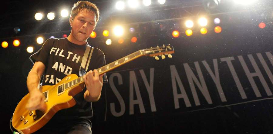 Say Anything live