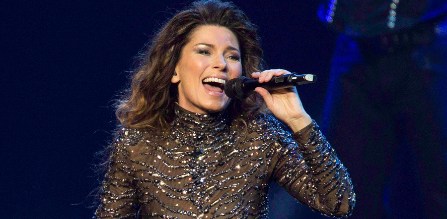 Shania Twain tour dates