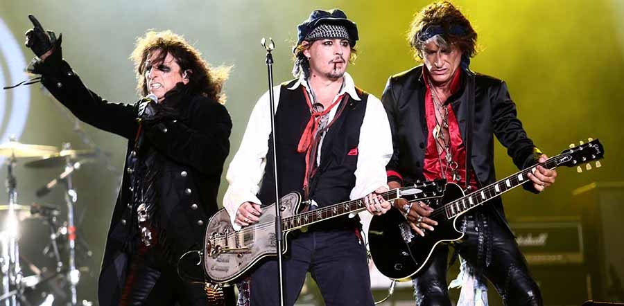The Hollywood Vampires tour dates