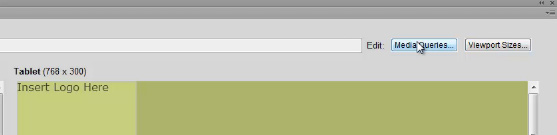 Multiscreen Preview and Screen Size Settings in Dreamweaver CS6