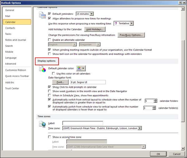 Managing Your Microsoft Outlook 2010 Calendar - Simon Sez IT