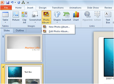 How to Create a Photo Album with PowerPoint 2010