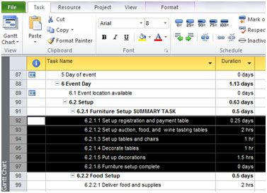 learn top down and forward planning for microsoft project 2010