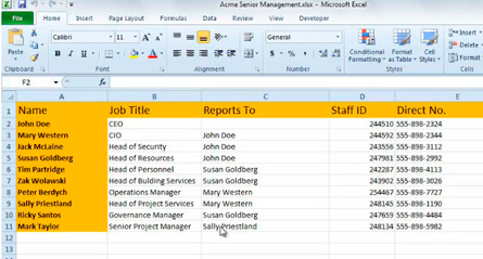 Automatic Creation of Org Chart Using External Data in Visio