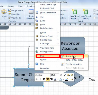 FREE Online Tutorial: Linking Shapes and Diagrams in Visio 2010