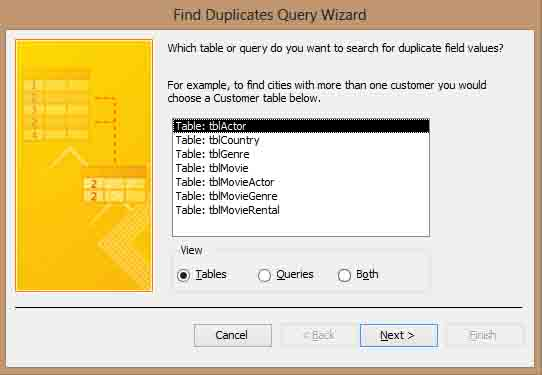 Finding Duplicate Records in Access 2013 - Simon Sez IT