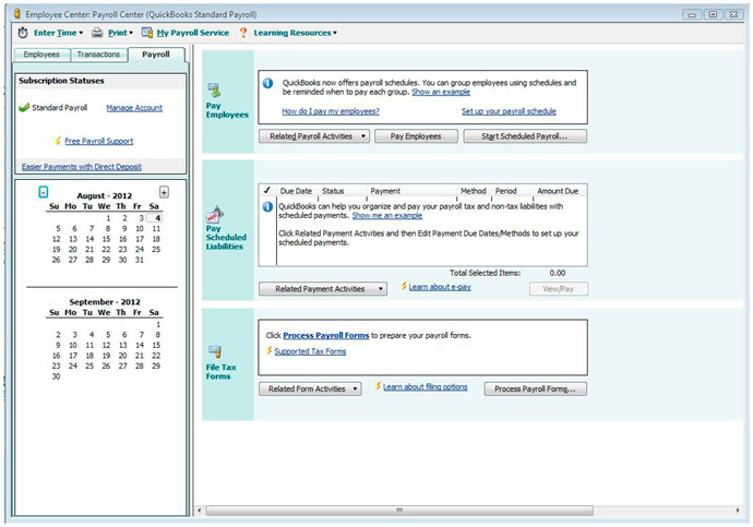How to Prepare Payroll Tax Forms in QuickBooks Pro 2012