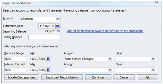 Reconcile a Bank Account in Quickbooks Pro 2012 - Simon Sez IT