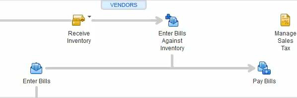Vendors Section in QB 2013