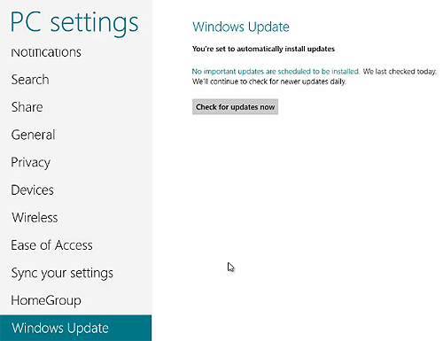 how to manually check for windows updates