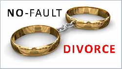 Divorce Overview - California offers no fault divorce