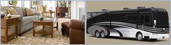 furniture & motorhome