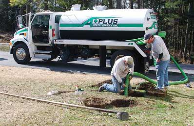 septic tank smells offending neighbors