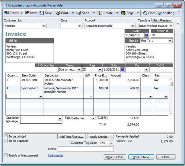Get Paid Faster using QuickBooks Online Invoicing