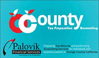 Orange County Accounting Services Business Card Front