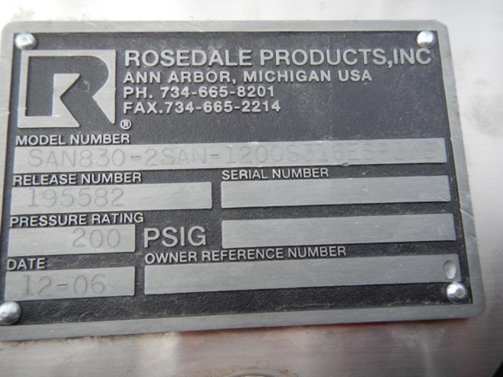 """Rosedale 8"""" Inch Basket Filter"""