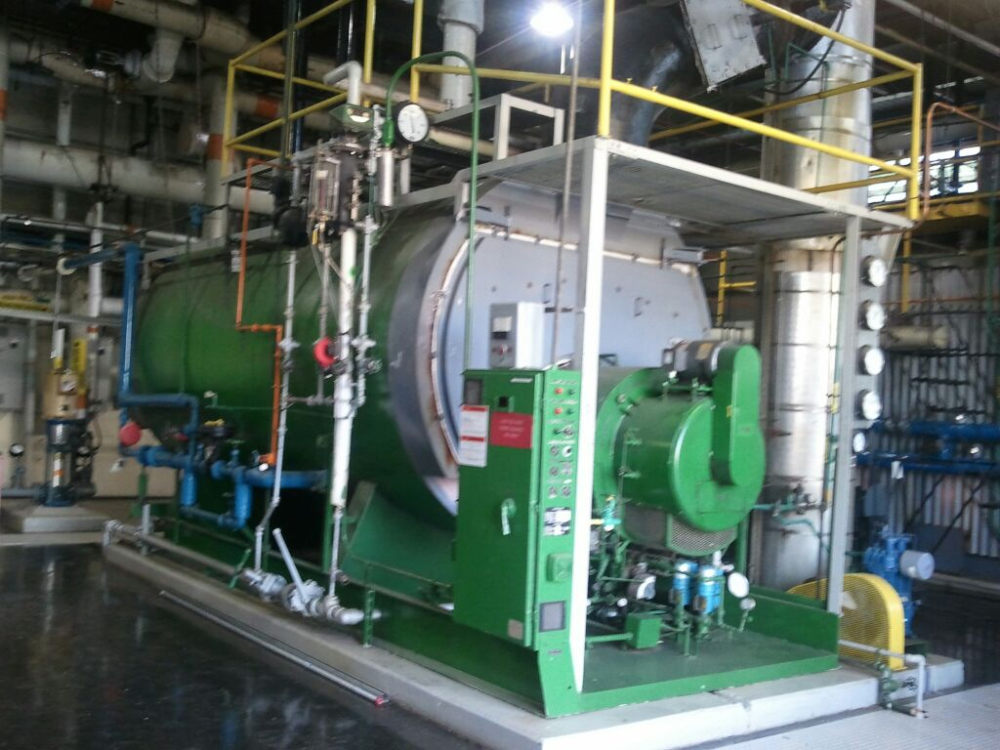 Johnston Boiler 14,000 Lbs. Per Hour