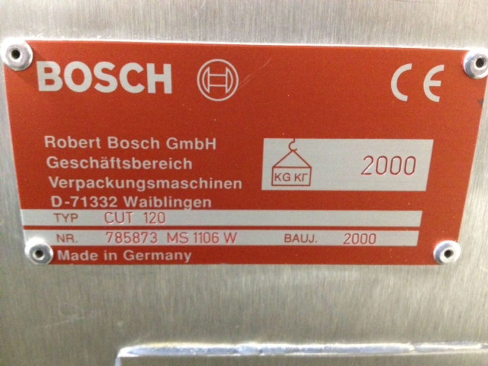 Bosch CUT 120 Cartoner