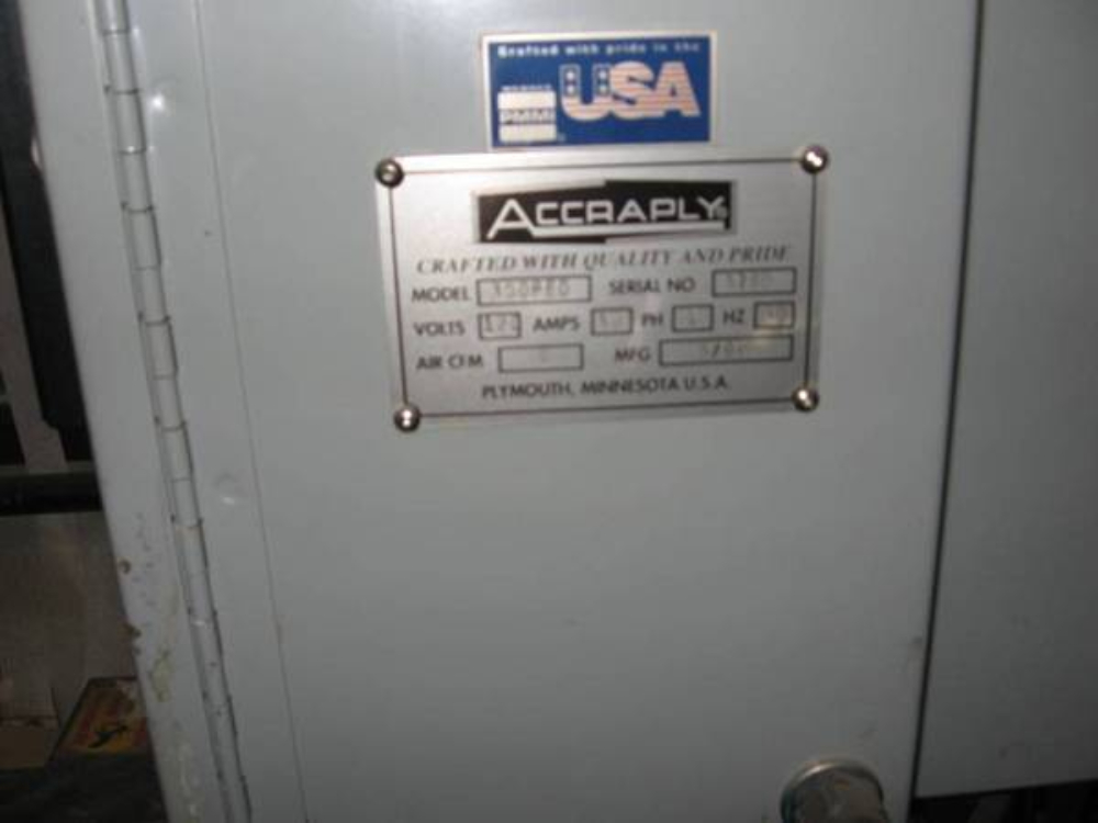Accraply 350 PED Labeler