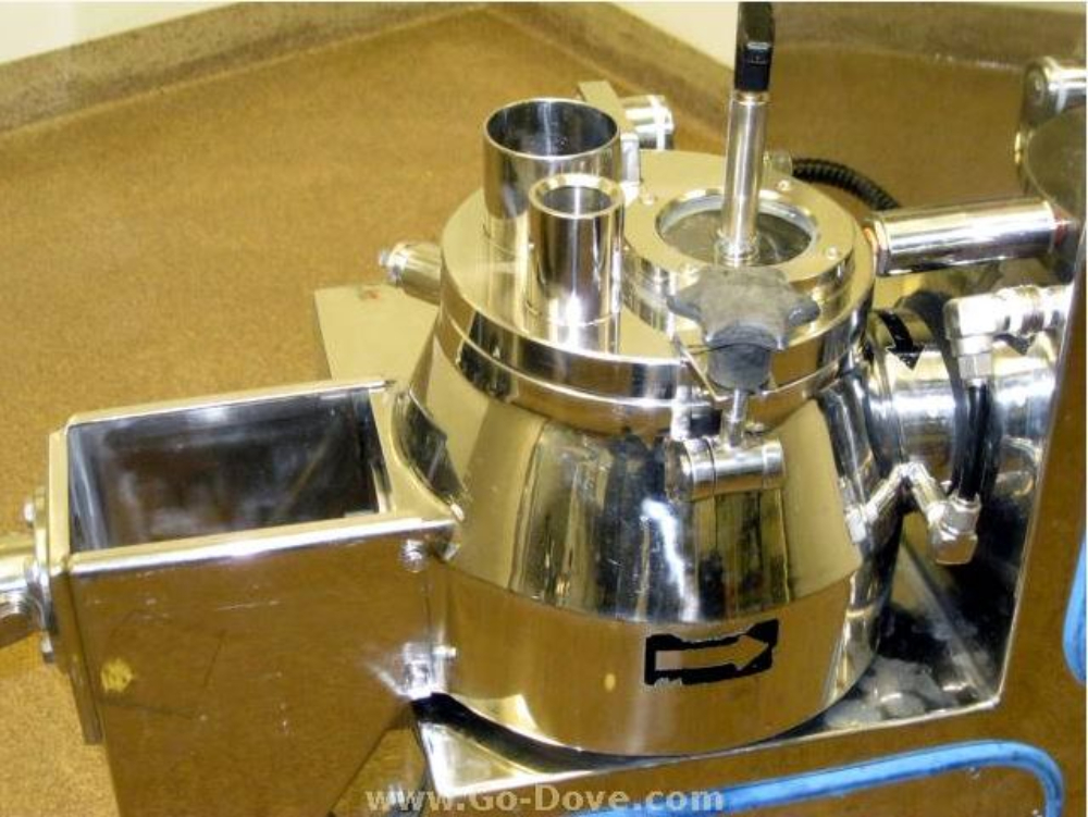 Glatt FM-VG-05 Mobile Vertical Granulator