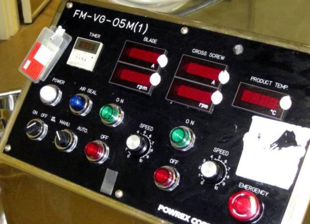 Glatt FM-VG-05M Mobile Vertical Granulator