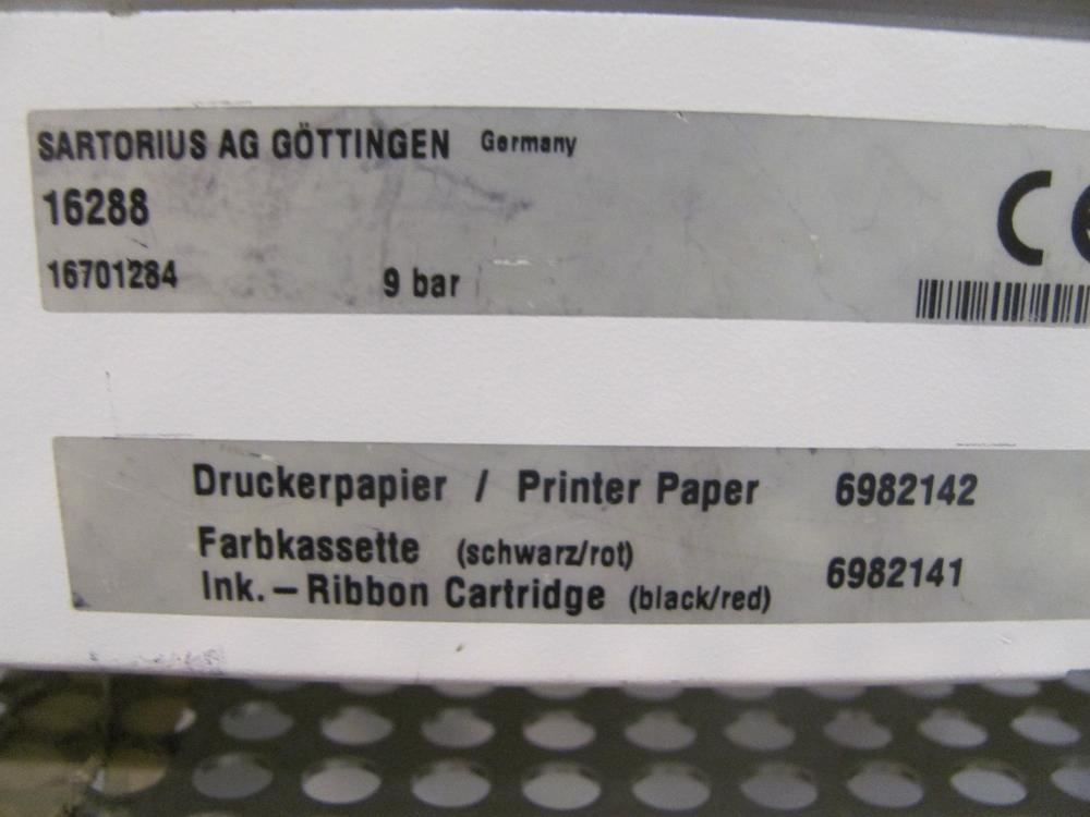 Sartorius Sartocheck 4 Filter Integrity Tester