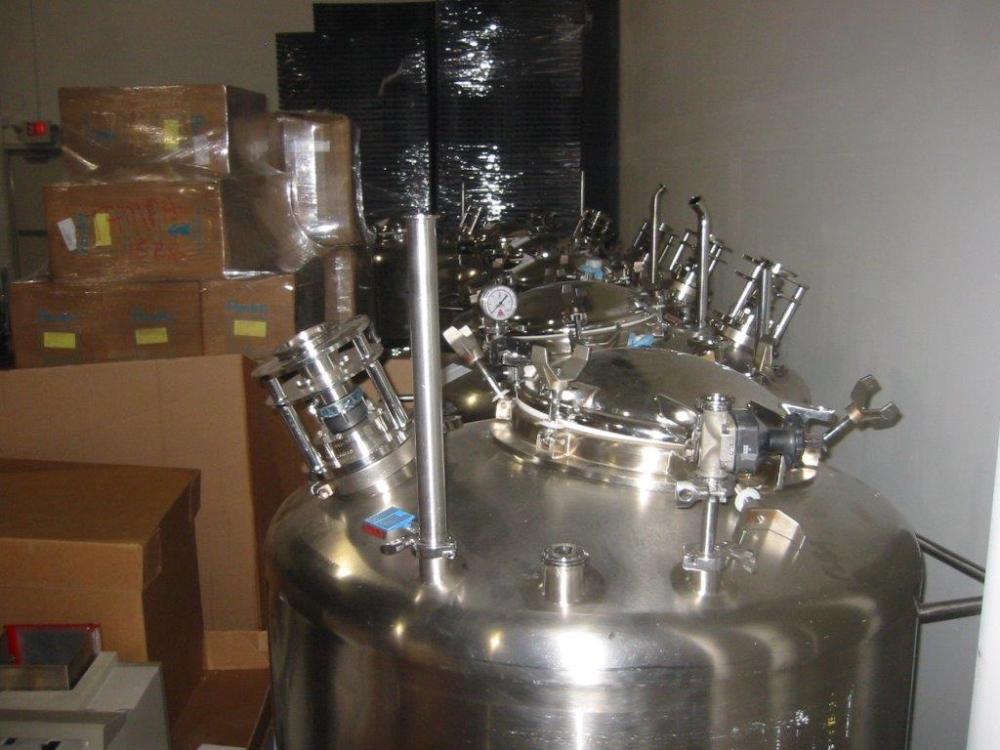 DCI 600 Liter Vessels