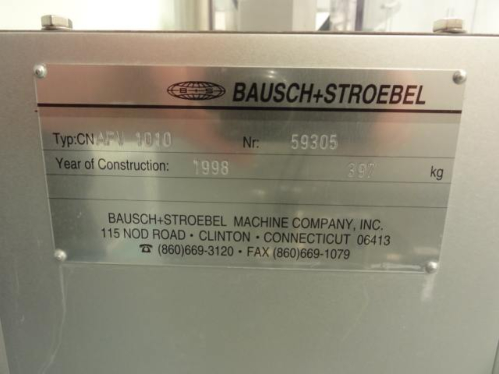 Bausch & Stroebel AFV1010 Vial and Ampoule Filling Machine